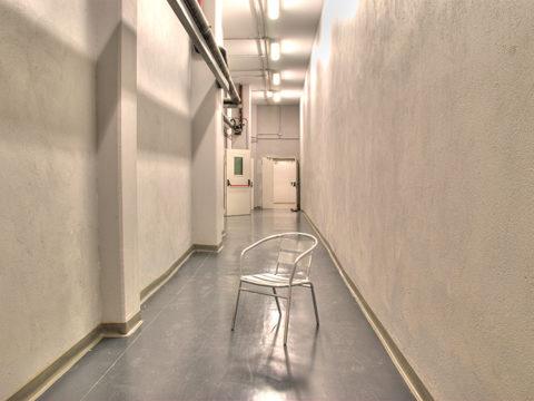 Underground hallway