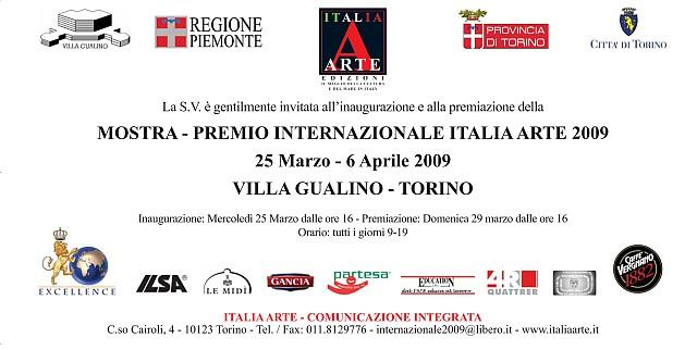 Internazionale Italia Arte 2009 invitation