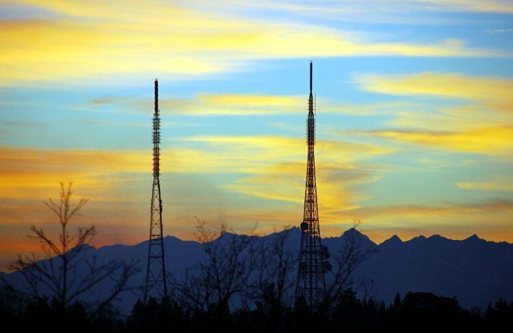 Eremo antenna towers
