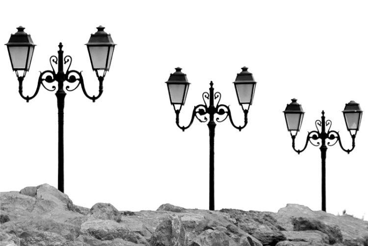 Saintes Maries de la Mer streetlamps
