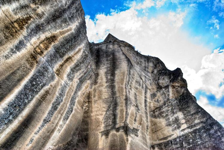 Les Baux de Provence rocks