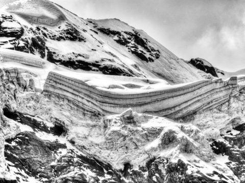 Monte Rosa glacier