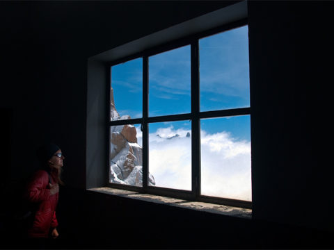 Mont Blanc window