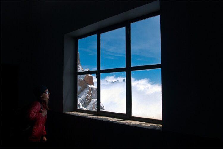 Mont Blanc window