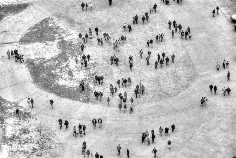 Mont Saint-Michel crowd