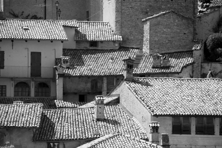 Verduno roofs